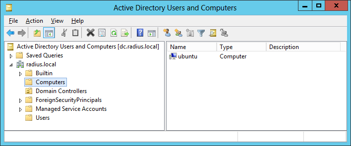 Active Directory authentication for Wi-Fi clients via FreeRADIUS