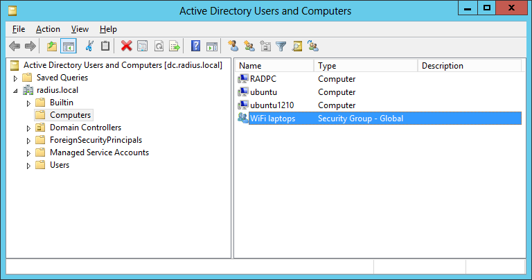Active Directory authentication for Wi-Fi clients via